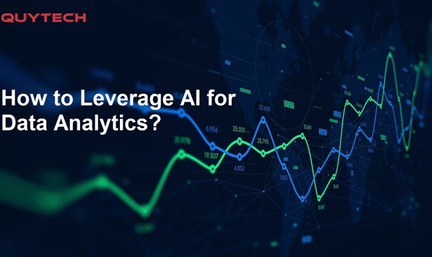 How to Leverage AI for Data Analytics?