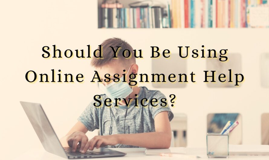 Should You Be Using Online Assignment Help Services?