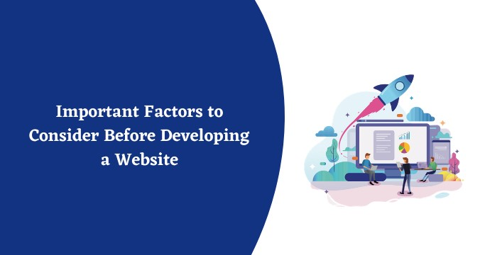 Important Factors to Consider Before Developing a Website