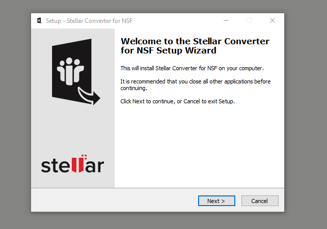 How to Use Stellar Converter for NSF to Open an NSF File in Outlook?